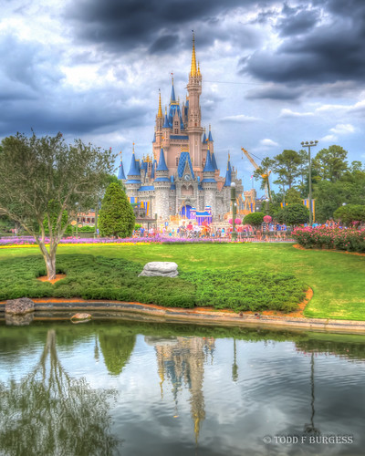 Cinderella's Castle HDR-6 | by BBQMonster