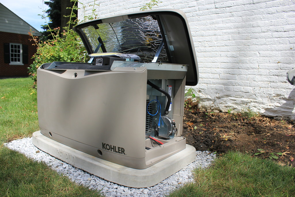 Whole House Generator Installation : Kohler whole house generator installation
