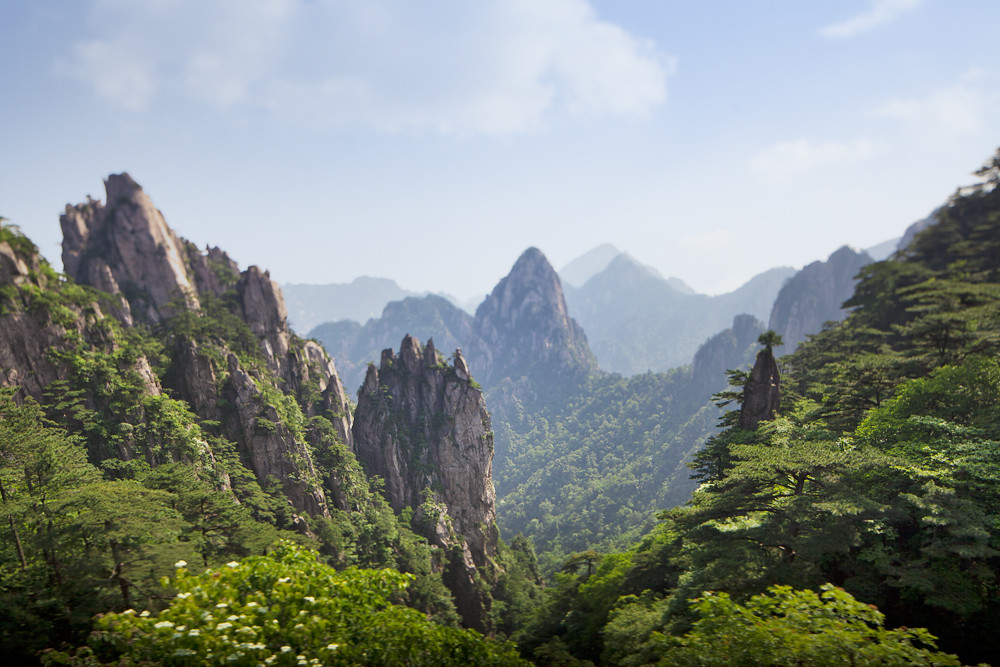 Huangshan mountain, China (The Yellow Mountain) | ts-e ...