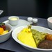 United Business Class Breakfast from SFO to FRA