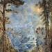 "Hume Nisbet (British, 1849 - 1923), ""The Fairy Fall"" ,1908"