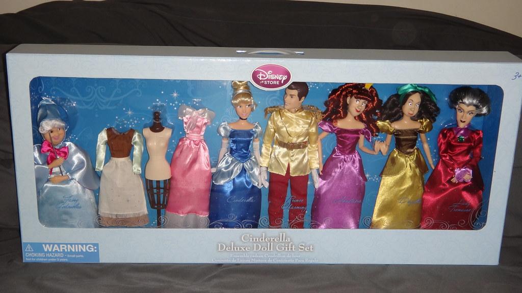 Cinderella Deluxe Doll Set