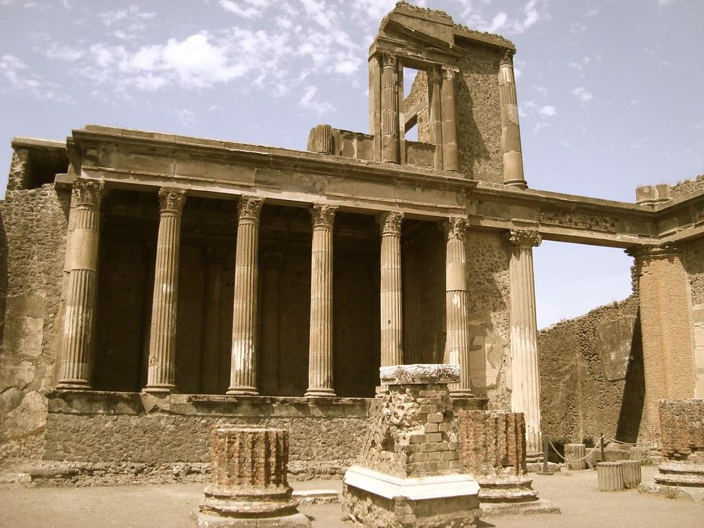 Ruins of Pompeii