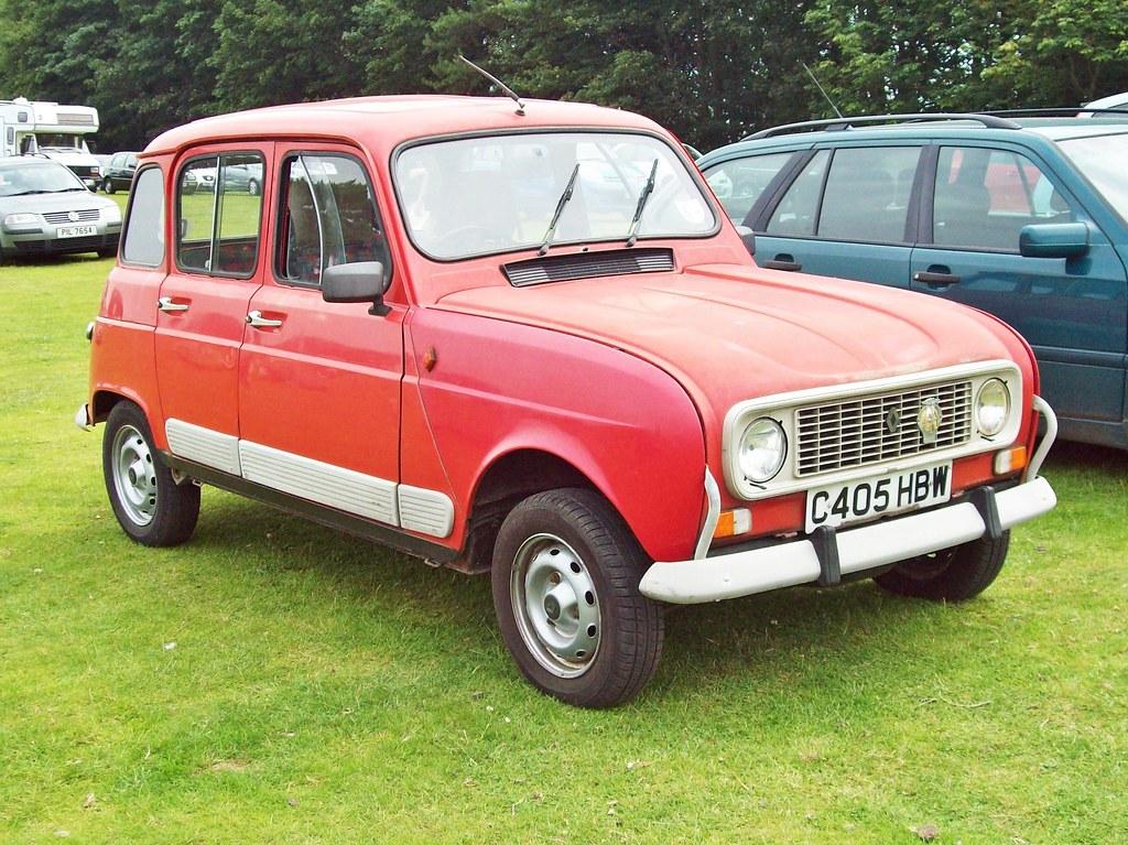 164 Renault 4 Gtl  1986