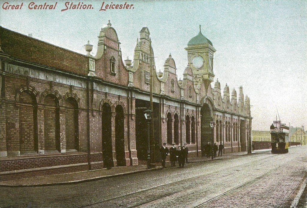 Then Leicester Great Central Station Circa 1904 The