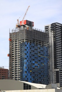 Late May 2012: a few more floors clad | by Marcus Wong from Geelong