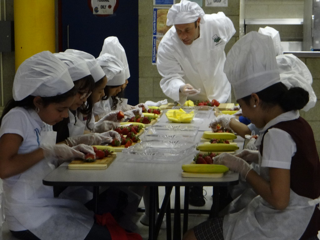 Coqui the chef nutrition workshop building healthy habits for Areas de un restaurante