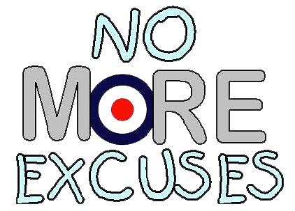 No-More-Excuses | by vladimir DGama