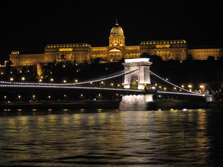 Buda Castle and Chain Bridge by night (Hungary) | by |kris|