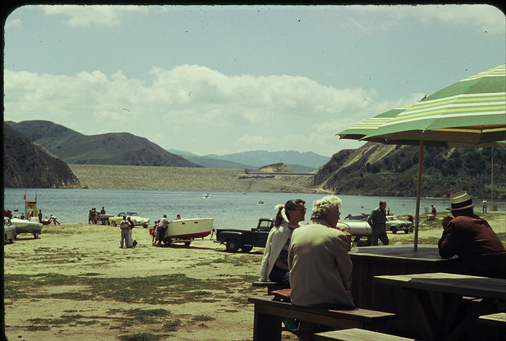 Lake piru opening day of fishing 1956 camprrm flickr for Lake piru fishing report