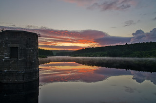 Sunrise at Cod Beck Reservoir. | by paul downing