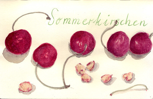 Kirschen / cherries | by Inky's Journal