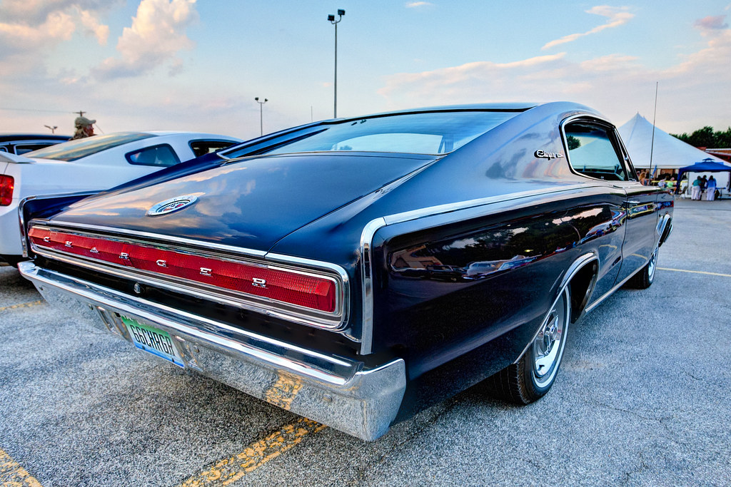 66 Dodge Charger HDR | The Cool City Car Show in Bay City, M… | Flickr