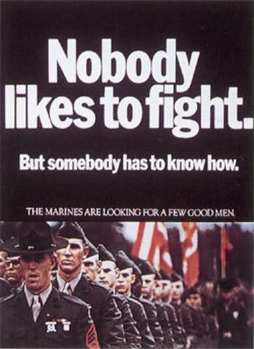 Marine Recruiting Poster 1968 | Semper Fi Marines. | jack ...