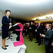 Princess Anne addressing visitors at The Olympic Journey: The Story of the Games ©ROH/2012