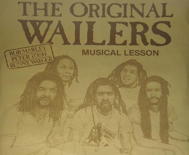 ORIGINAL WAILERS MUSICAL LESSON BOB MARLEY PETER TOSH BUNNY WAILER