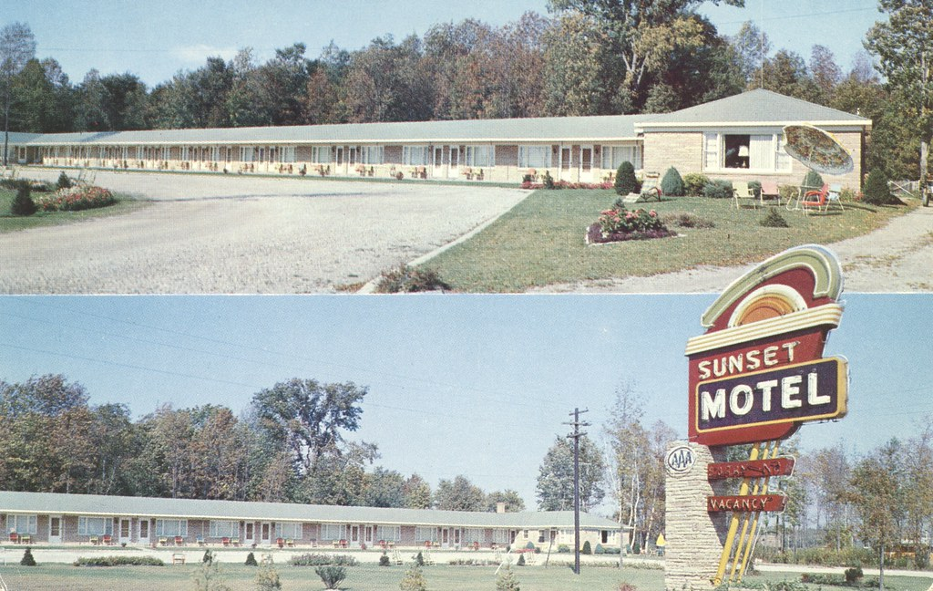 Sunset Motel - Tawas City, Michigan