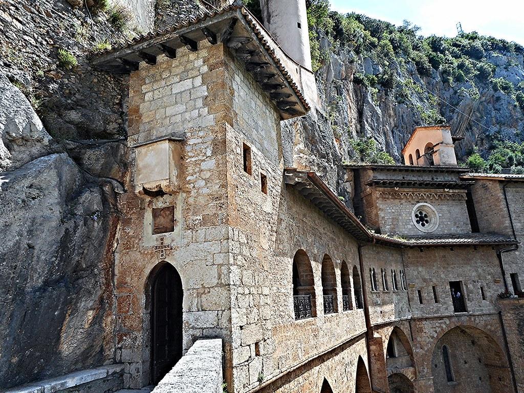 "Monastery of ""Sacro Speco"" (=Holy cave) of Saint Benedict (end 13th century) - Subiaco (Rome)"