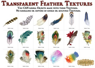 Shabby Chic Feather Textures | by Shabby Chics