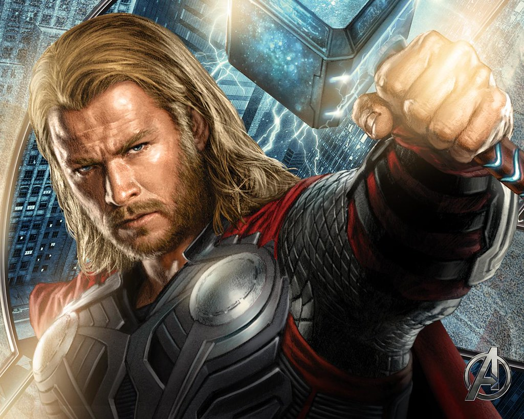 Thor The Avengers movie art | This image is property of ...