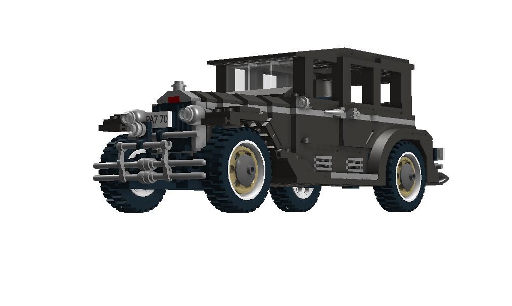 ... Lego Indiana Jones - Shanghai Chase Nr. 7682 recreated - 1927-31 REO  Flying