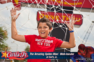 The Amazing Spider-Man Web-tacular: June 5, Houston, TX | by Carl's Jr.