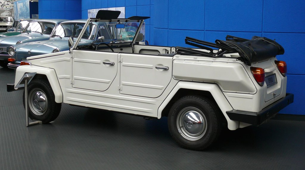 VW Typ 181 Safari 1980 white hl | stkone | Flickr
