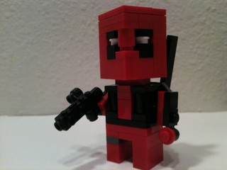 Deadpool CubeDude | by Spider-Brick