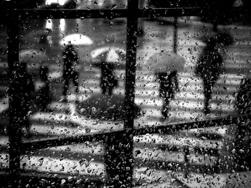 rainy reality in black and white | by danilo...