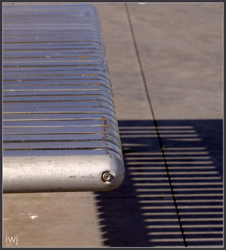 Seat Shadow, Docklands by the Yarra River, Melbourne. | by fotograf1v2
