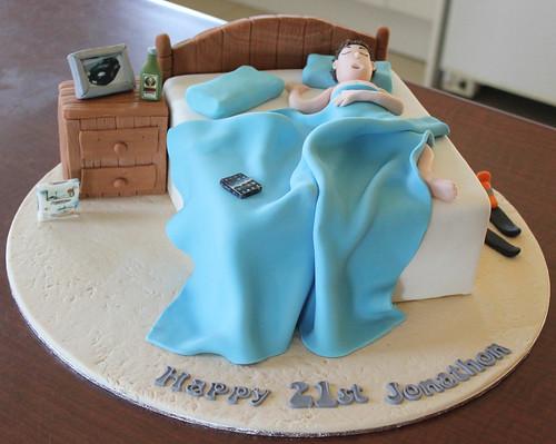 Teenage Bed Cake Emma Vernon Flickr
