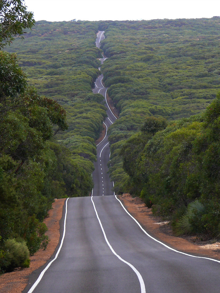 Kangaroo Island Roads Road on Kangaroo Island