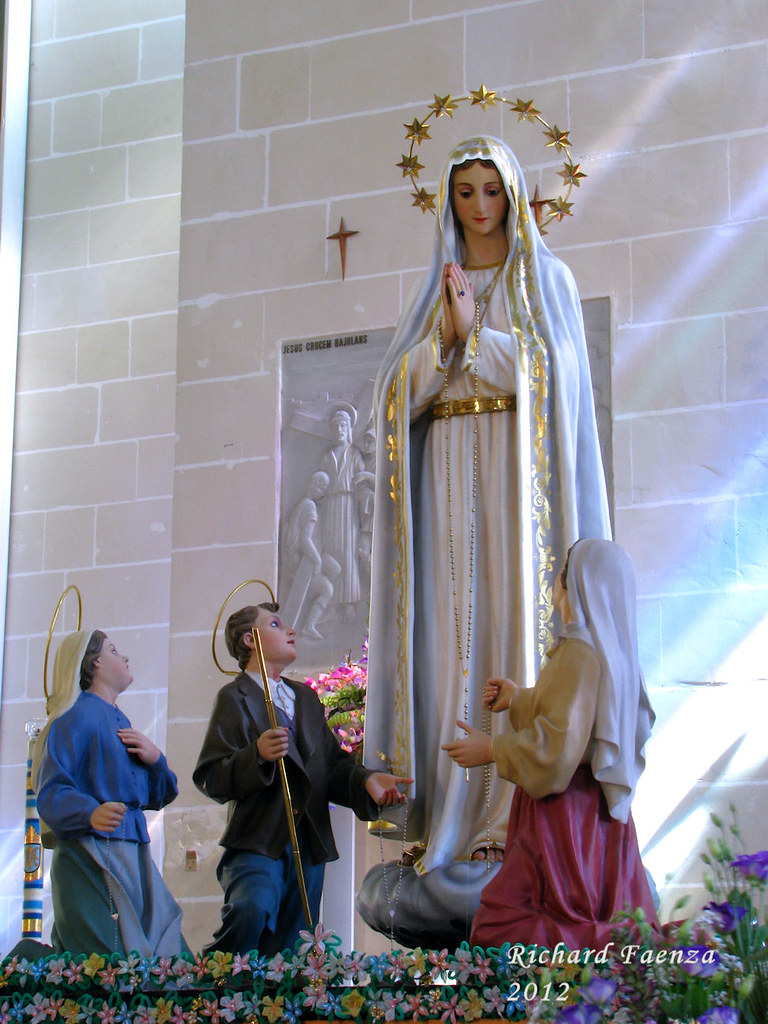 Our Lady Of Fatima The Titular Statue Of Our Lady Of