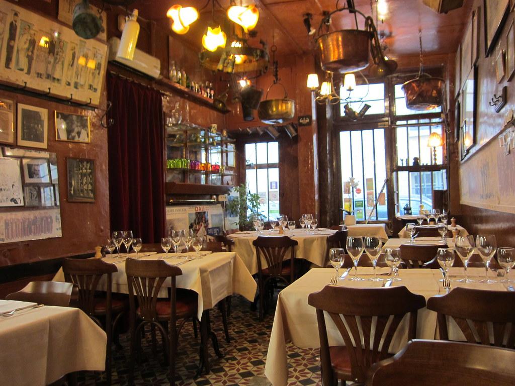 Restaurant Roger La Grenouille Paris
