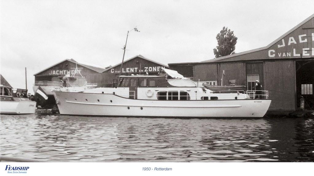 1950 - Rotterdam | Feadship Royal Dutch Shipyards | Flickr