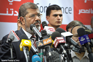 Muslim Brotherhood's Mohamed Morsi wins (according to FJP) Egypt's presidential elections | by Jonathan Rashad