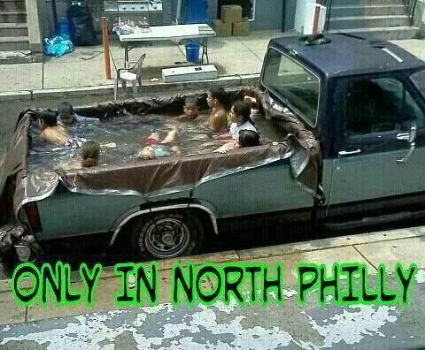 Only in North Philly |...