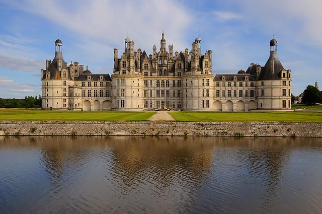 Le ch teau de chambord vall e de la loire france el castillo de chambord valle del loira - Castillo de chambord ...