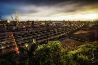 By the train tracks | by Alex Megremis