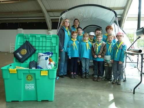 ShelterBox at West Yorkshire Scouts Big Camp Harrogate 2012 | by woodytyke