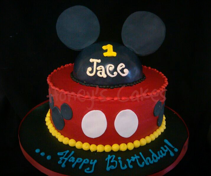 Mickey Mouse First Birthday Cake Mickey Mouse Theme First Flickr