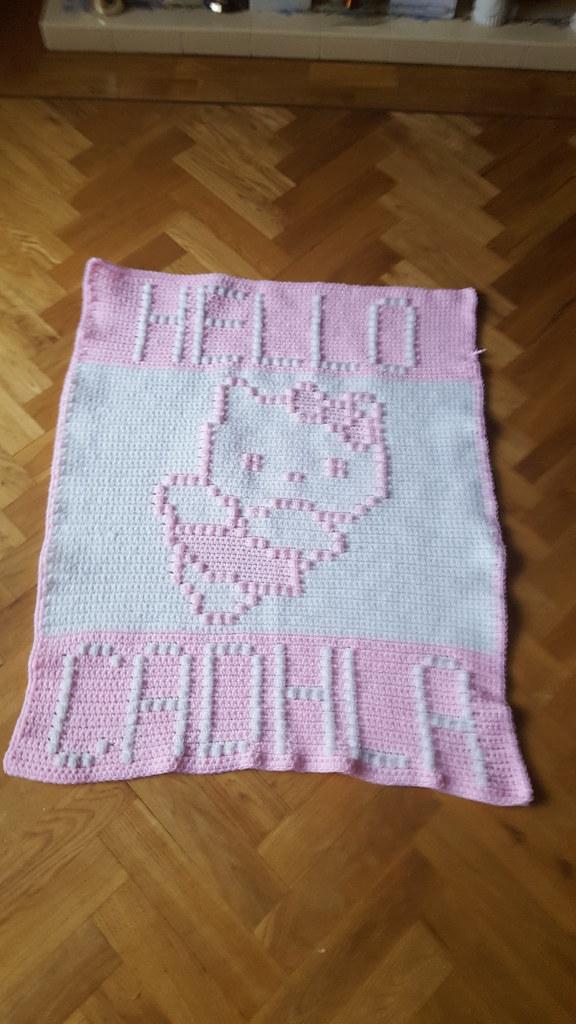 Kitty Blanket For Cadhla Dochol Flickr