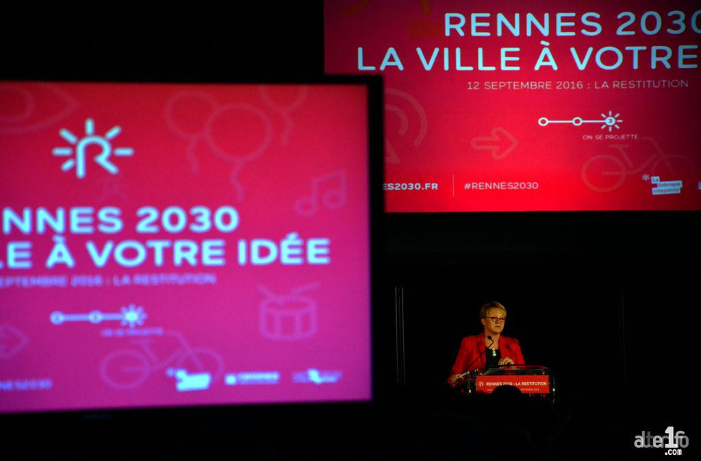 """[08 Septembre 2016] - Un jour, une photo... #rennes2030 : """"On propose, ils disposent..."""""""