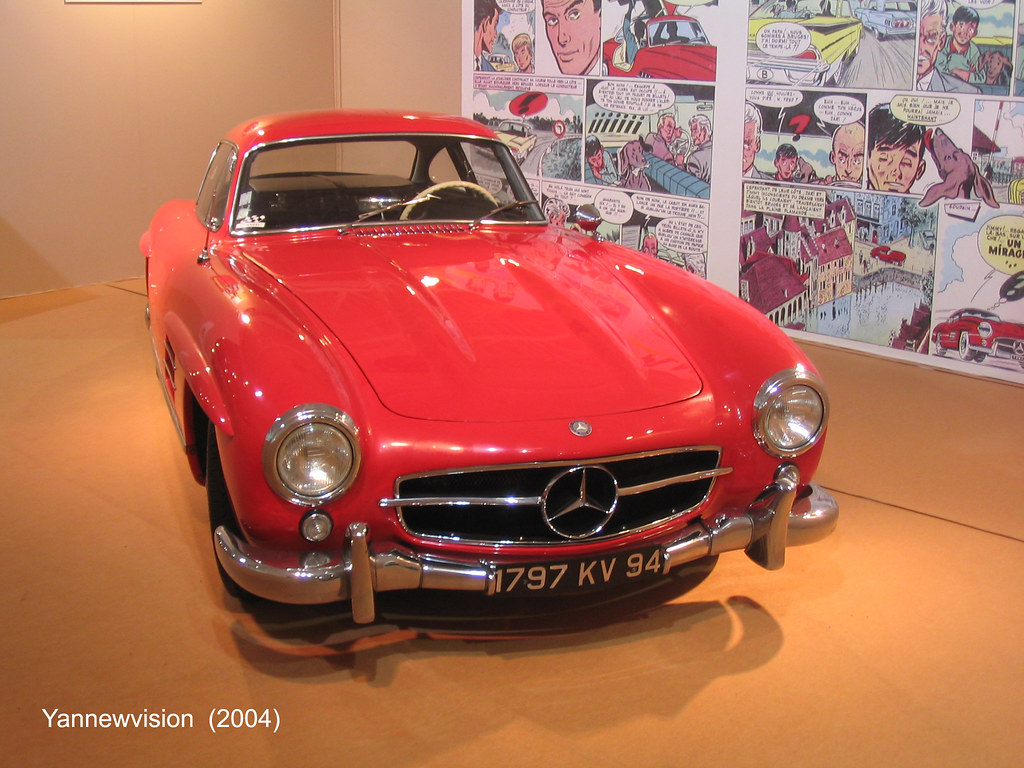 mercedes 300 sl porte papillon mondial auto paris f flickr. Black Bedroom Furniture Sets. Home Design Ideas
