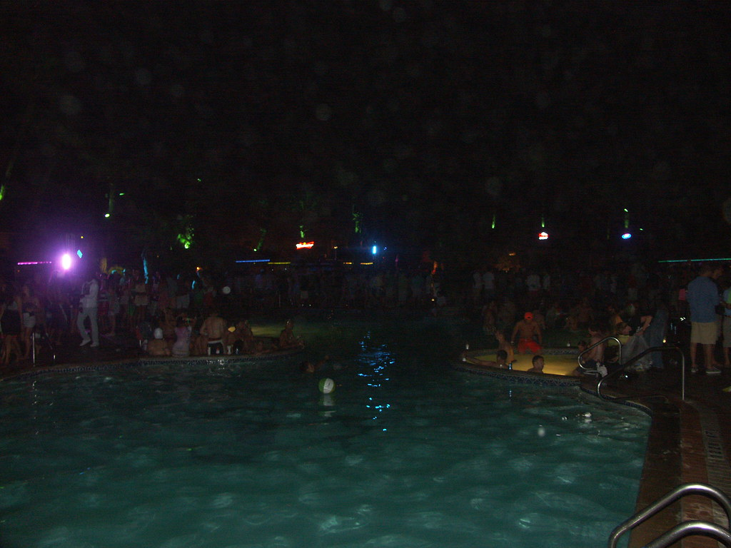Inertia Tours pool party at Isla Grand on South Padre ...