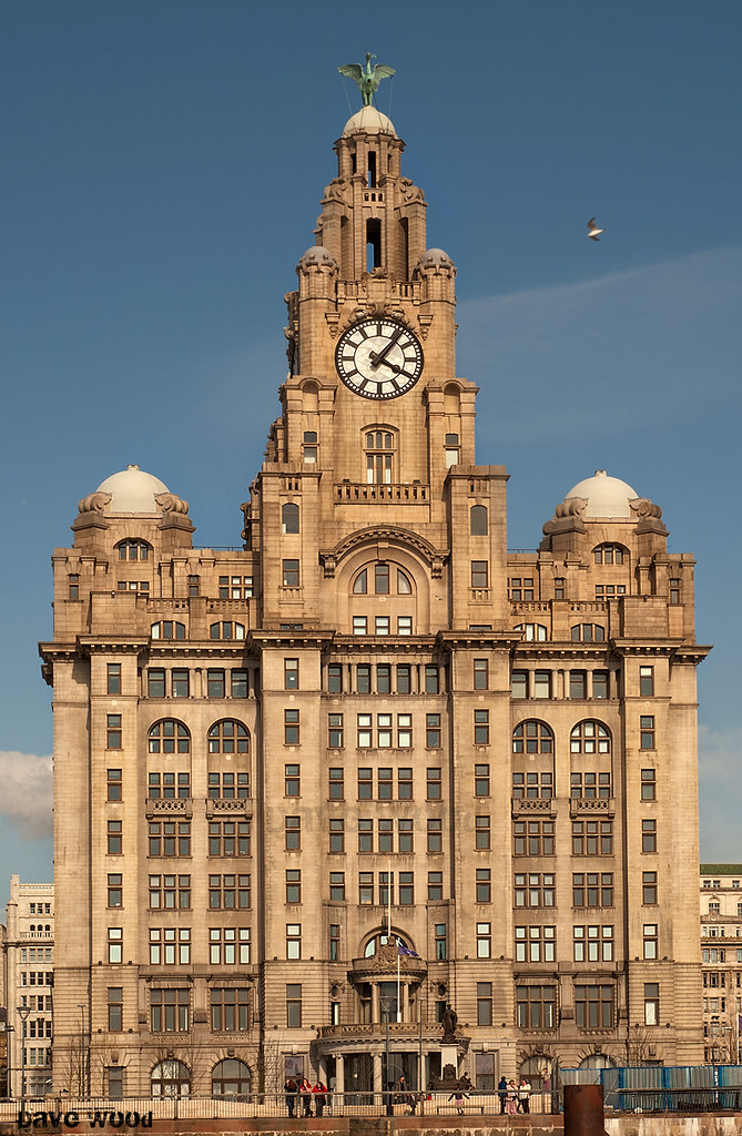 the iconic royal liver building liverpool dave wood flickr