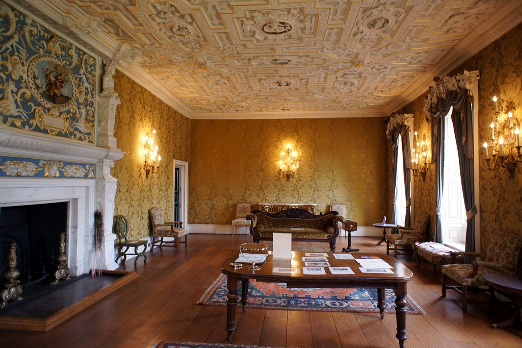 ... State Drawing Room In Boston Manor House | By Maxwell Hamilton