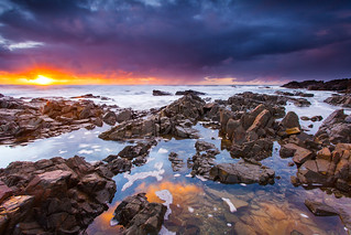 Sunrise Reflections - Hastings Point | by James.McGregor