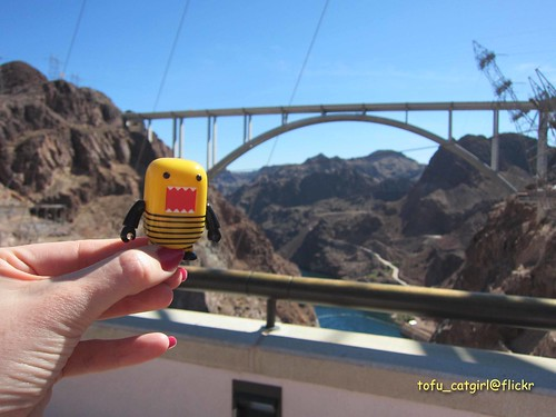 Domo at Hoover Dam | by tofu_catgirl