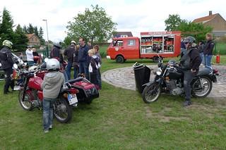 Ragower Motorradfreunde und Feuerwehr